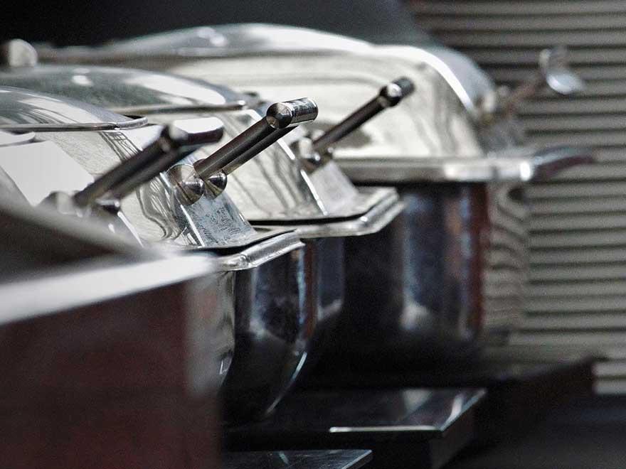 Wärmeplatten in Fleischerei und Gastronomie im Bereich Produkte
